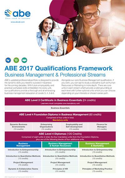 ABE 2017 Qualifications Framework 1