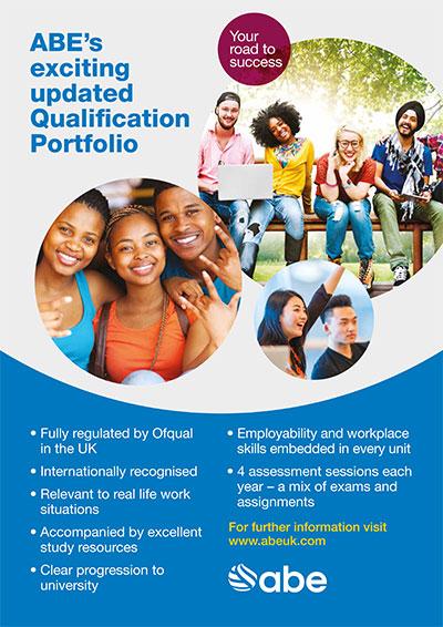 ABE's Exciting Updated Qualification Portfolio